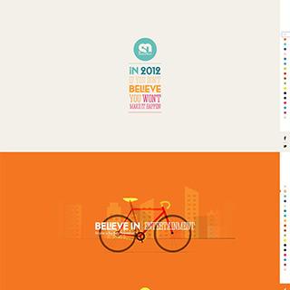 html5全屏页面视差滚动网站特效