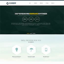 HTML5简约网络工作室网站源码 网站建设模板