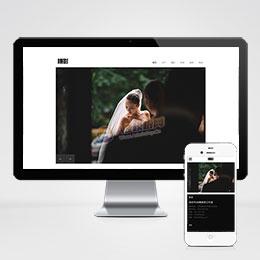 (自适应手机版)响应式风景摄影写真类织梦模板 HTML5个人写真摄影师网站源码下载