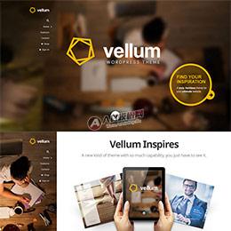 HTML5酷炫Vellum 响应式WordPress企业主题