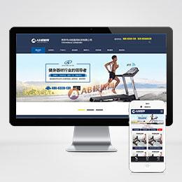(带手机版数据同步)营销型健身健康科技