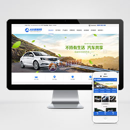(带手机版数据同步)汽车租赁贸易类织
