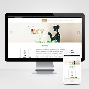 (自适应手机版)响应式茶叶类网站织梦模板 HTML5茶叶茶艺茶文化养生茶网站源码下载