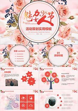 魅力38女王节活动策划实用PPTbetway安卓必威备用地址版