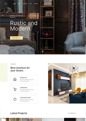 Bootstrap5多用途的企业展示网站html5模板