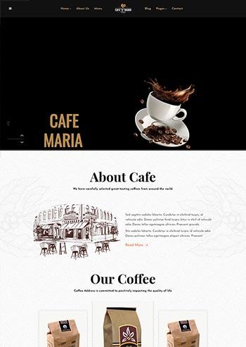 甜品茶餐厅官网html模板